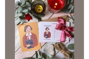 Открытка почтовая «Гоголь»