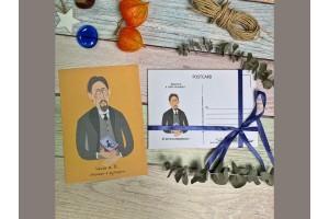 Открытка почтовая «Чехов»