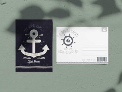 Почтовая открытка «Якорь», Петербург