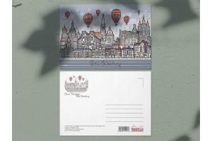 Почтовая открытка «Панорама», Петербург