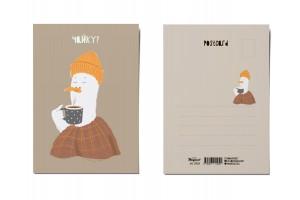 Почтовая открытка «Чайку?», Питерские чайки