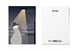 Почтовая открытка «Пасмурный вечер», Питерские чайки