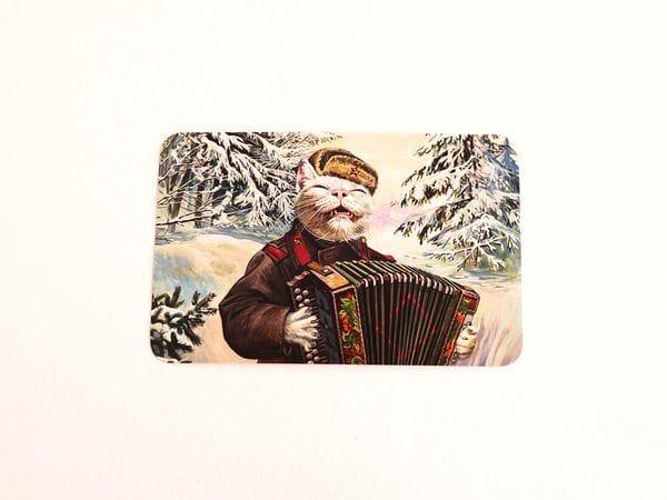 Почтовая открытка «Василий Каптёркин»