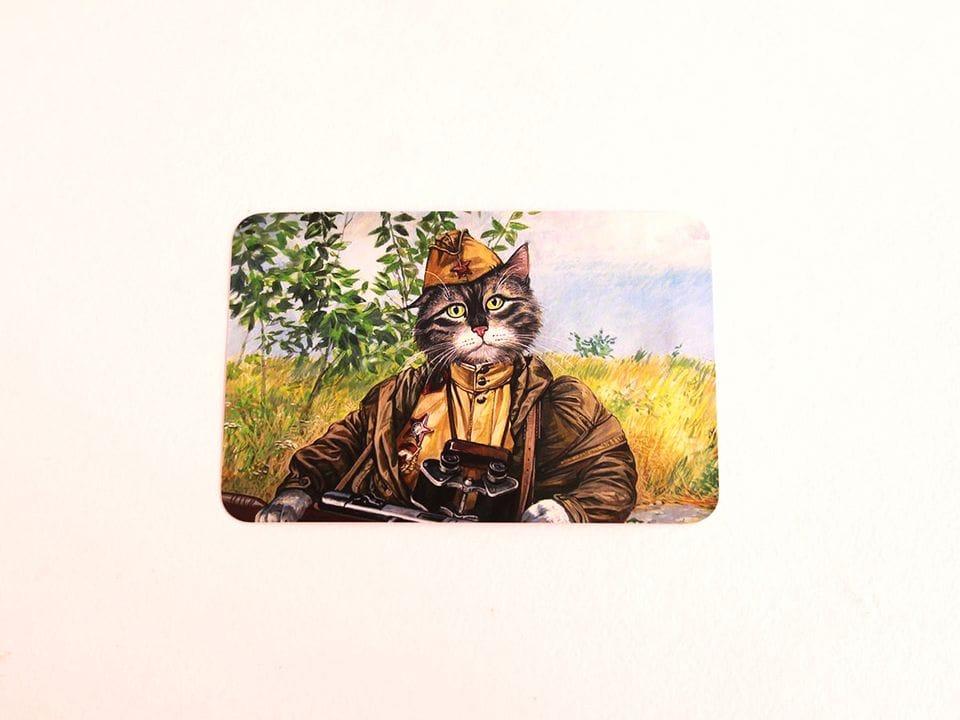 Почтовая открытка «Идеальный разведчик», из коллекции Александра Завалия