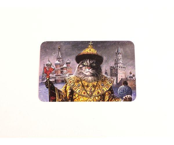 Открытка для postcrossing «Кот всея Руси»