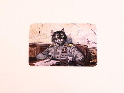 Почтовая открытка «Стратег»