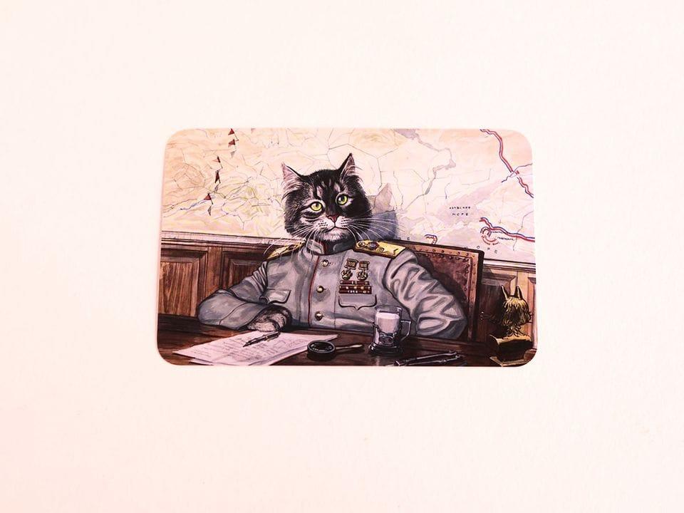 Почтовая открытка «Стратег», из коллекции Александра Завалия