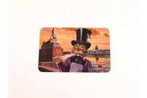 Почтовая открытка «Я помню чудное мгновение», Александр Завалий