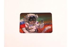 Почтовая открытка «Яблонька на марсе», Александр Завалий
