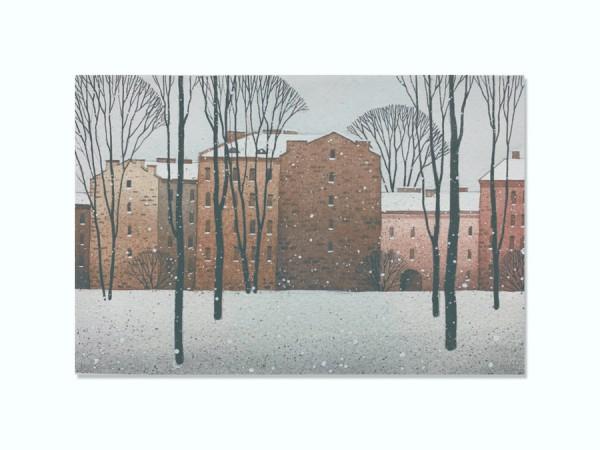 Открытка Зимний двор