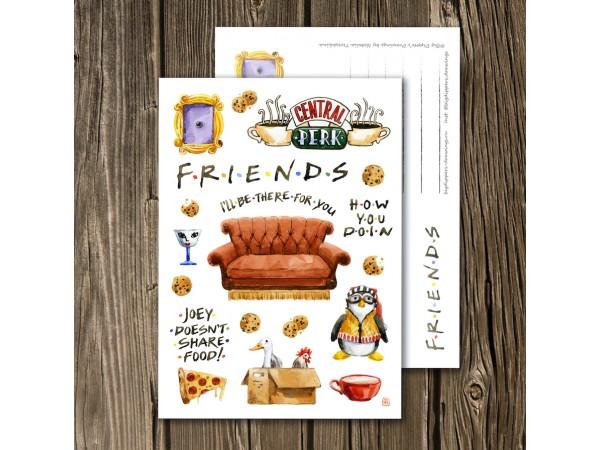 Открыта почтовая «Friends»