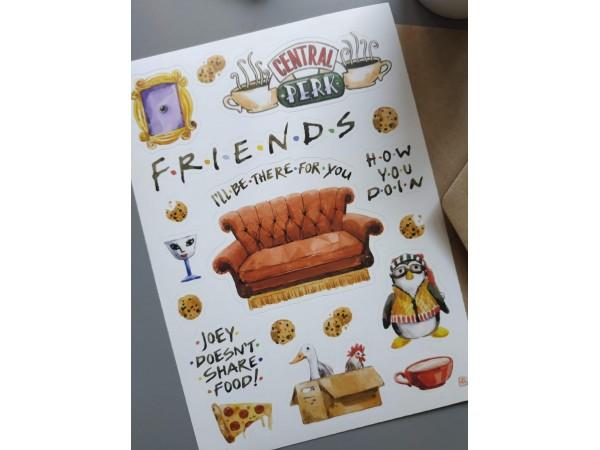 Стикерпак «Friends»