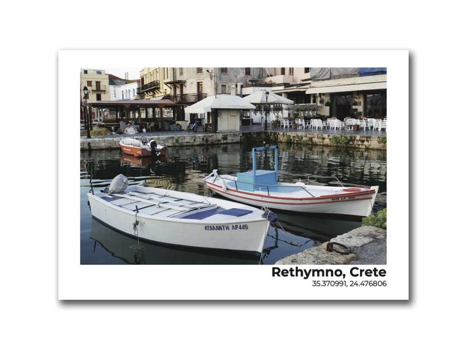 Авторская фото открытка Остров Крит