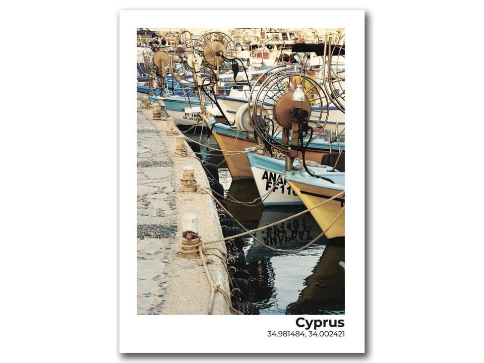 Авторская фото открытка. Кипр