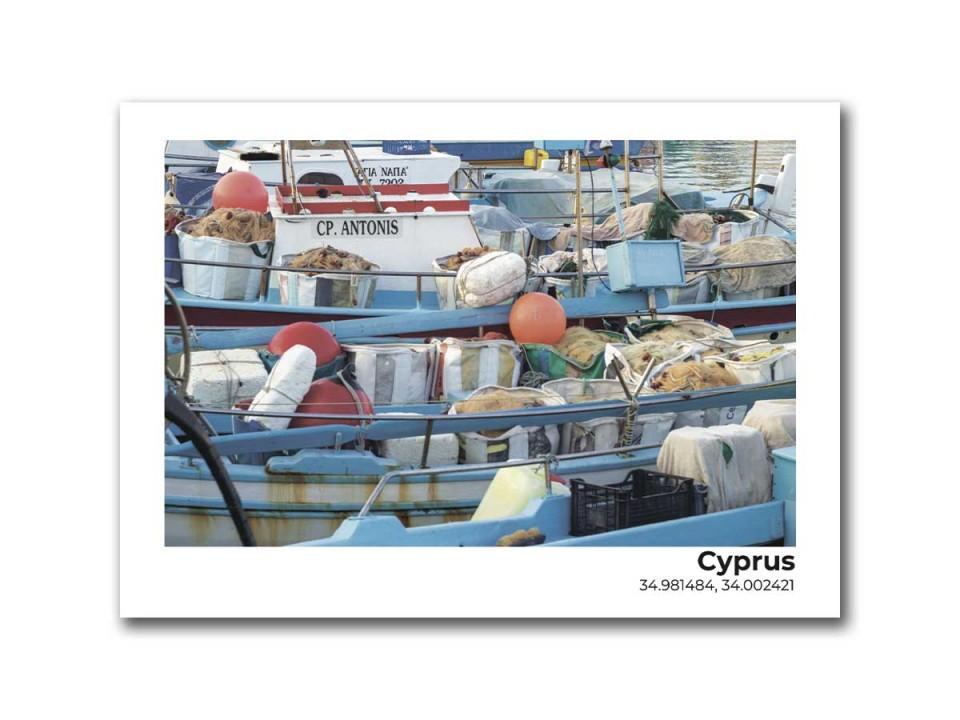 Авторская фото открытка. Остров Кипр