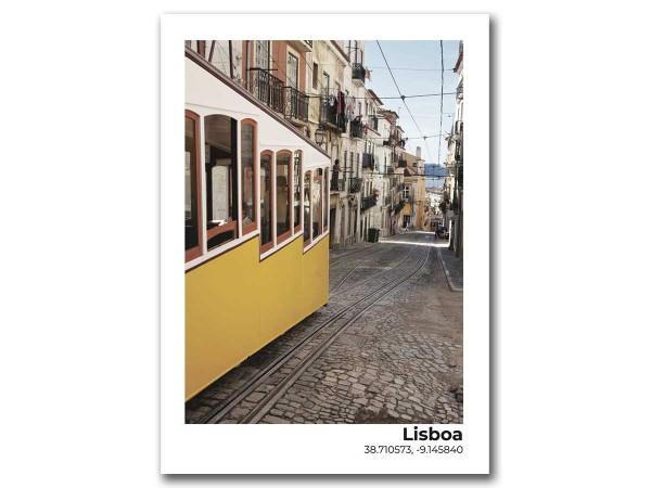 Открытка Лиссабон. Трамвай