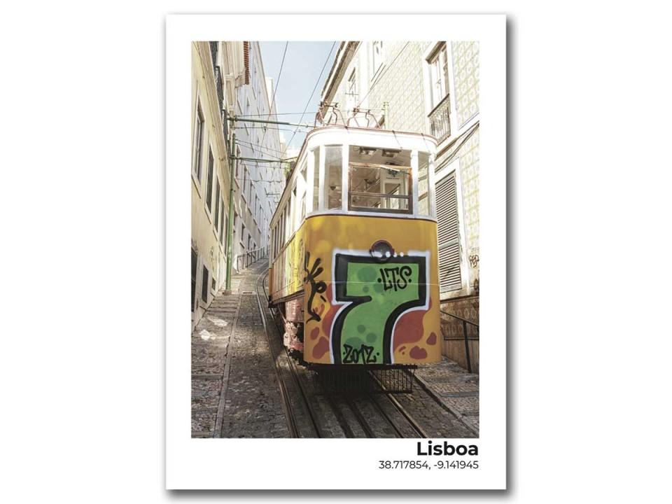Авторская фото открытка Граффити