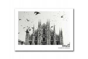 Открытка Миланский собор