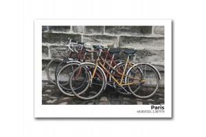 Открытка Велосипеды