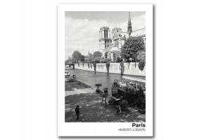 Открытка Собор Парижской Богоматери