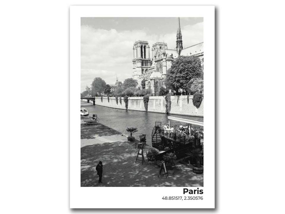 Авторская фото открытка Нотр-Дам-де-Пари