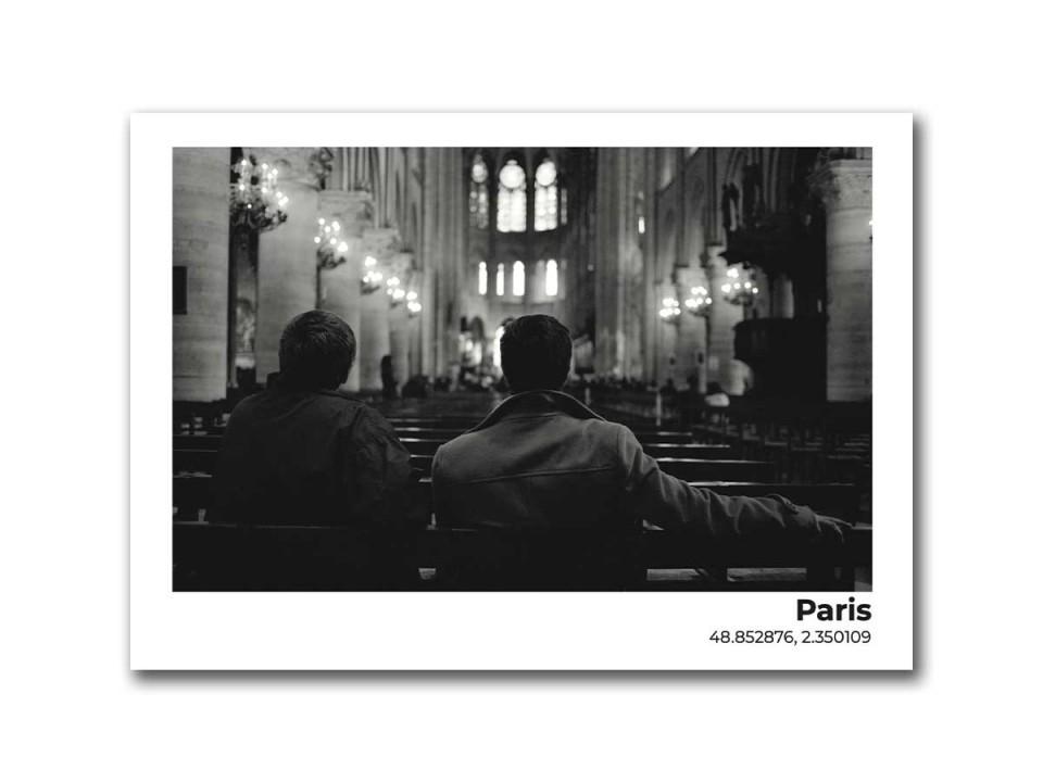 Авторская фото открытка Париж