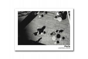 Открытка Парижский променад