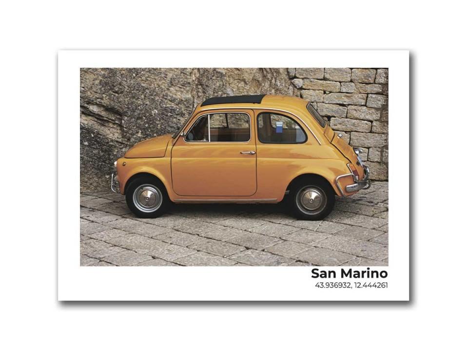 Авторская фото открытка Ретро автомобиль