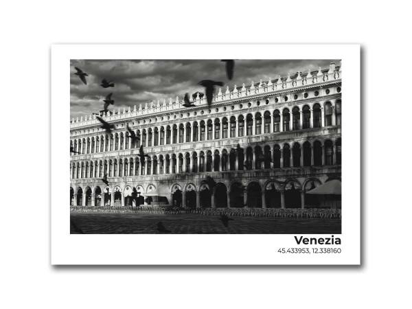 Открытка Площадь Святого Марка, Венеция