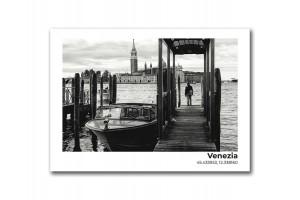 Открытка Пристань в Венеции