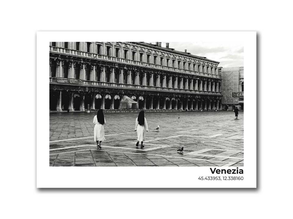 Авторская фото открытка Площадь Святого Марка