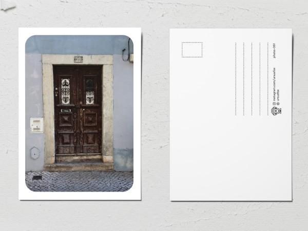 Открытка «Двери мира», старая дверь 22
