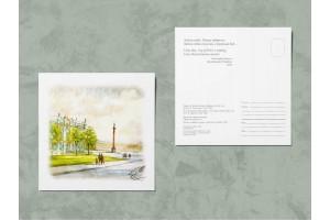 Открытка почтовая «Эрмитаж Зимний дворец», Ирина Есиневич