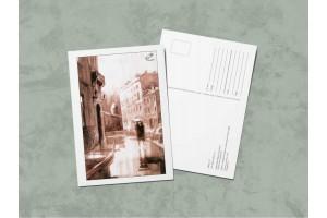 Открытка почтовая «Мойка 12», сепия. Ирина Есиневич
