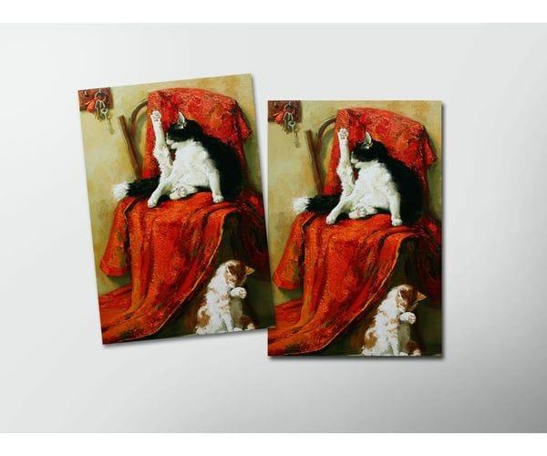 Открытка - постер «Гостей намывают» из коллекции работ Марии Павловой