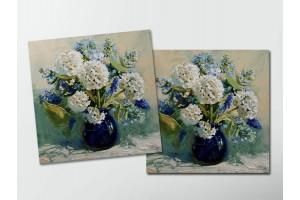 Открытка - постер «Весенний букет», Мария Павлова