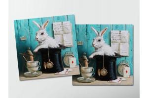 Открытка - постер «Здесь всегда время пить чай», Мария Павлова
