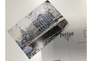 Почтовая открытка «Зима на Мойке», Петербург