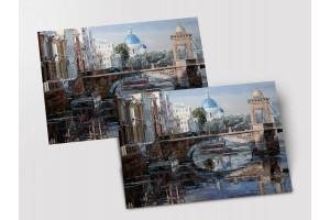 Почтовая открытка «Фонтанка», Петербург