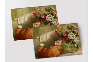 Почтовая открытка «Полуденное солнце», Мария Павлова