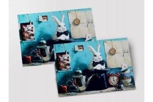 Почтовая открытка «Посвящение Алисе», Мария Павлова