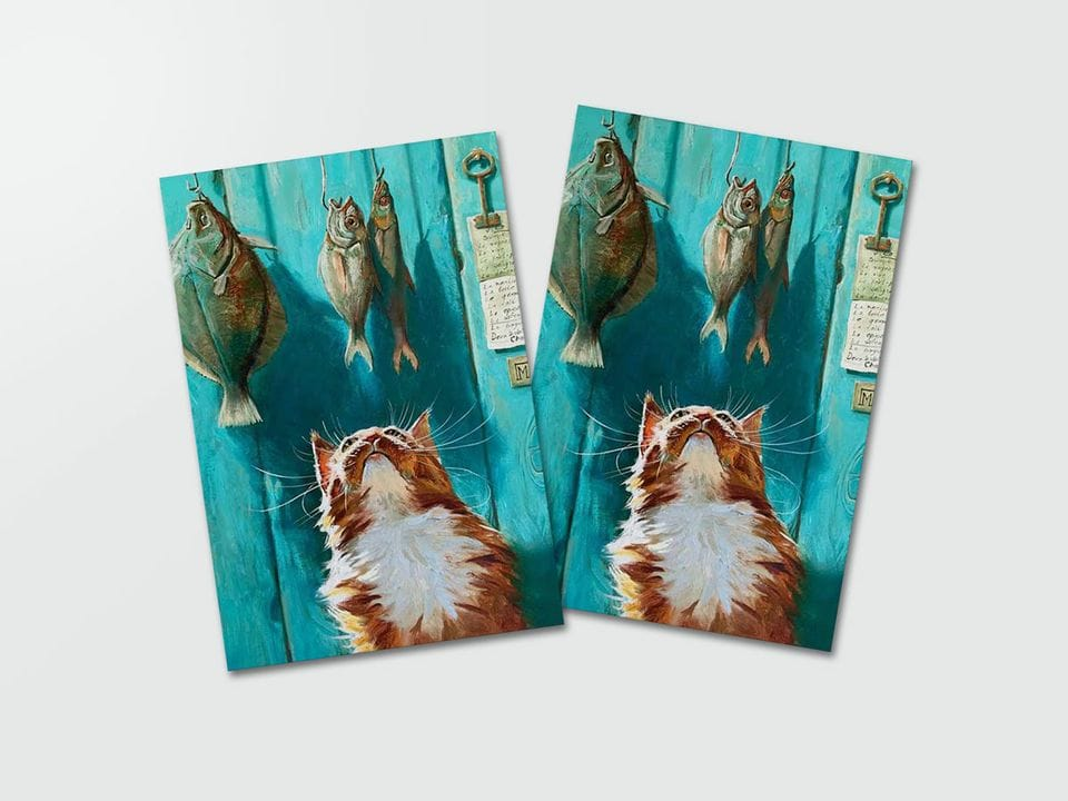Почтовая открытка «Буйабес» из коллекции работ Марии Павловой