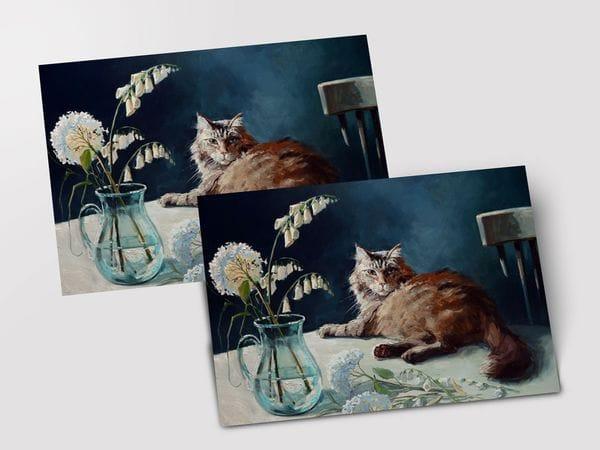 Почтовая открытка «Хозяин», Мария Павлова