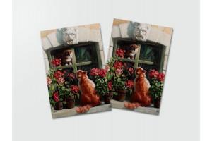 Почтовая открытка «Свидание», Мария Павлова