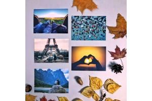 Набор почтовых открыток «Love is...»