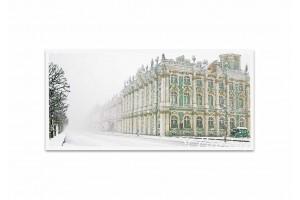 Почтовая открытка фото «Зимний дорец»