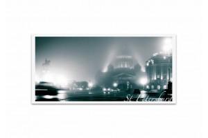Почтовая открытка фото «Исаакиевский собор» в тумане