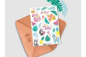 Стикерпак «Летний, Aloha»