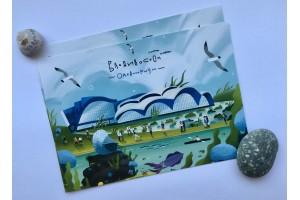 Почтовая открытка «Океанариум», Владивосток
