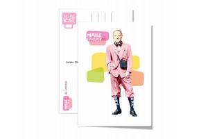 Почтовая открытка «Бродский», модные классики